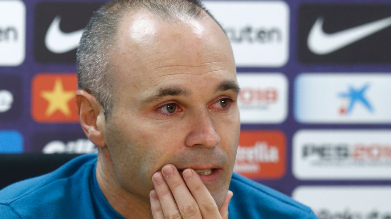 Iniesta exits on his own terms  Sports  Pinterest