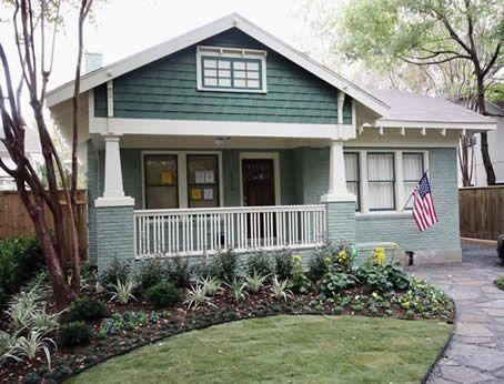 Walker Bungalow Historic Colors Dream Homes Pinterest Bungalow
