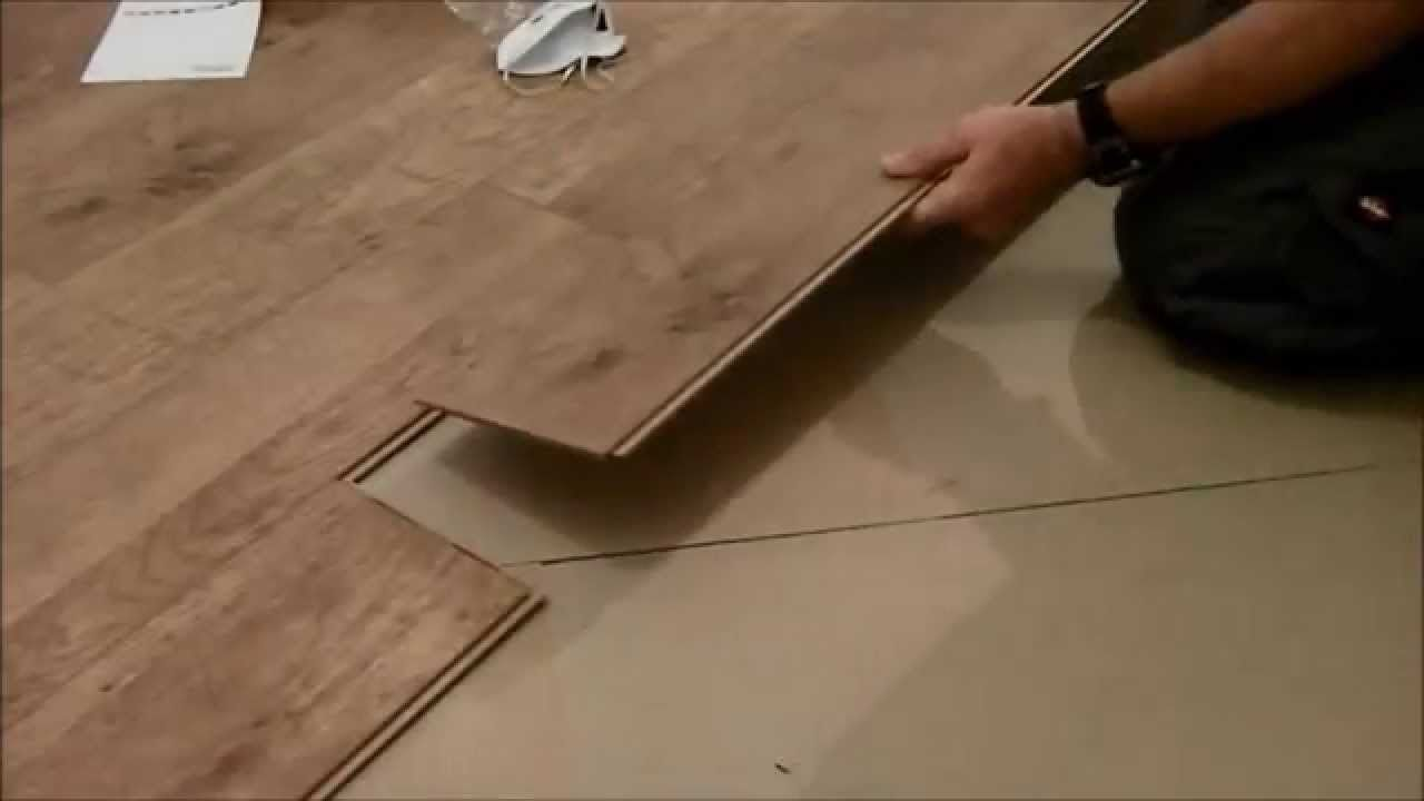 Series laminate floor installation diy tip | Laminate ...