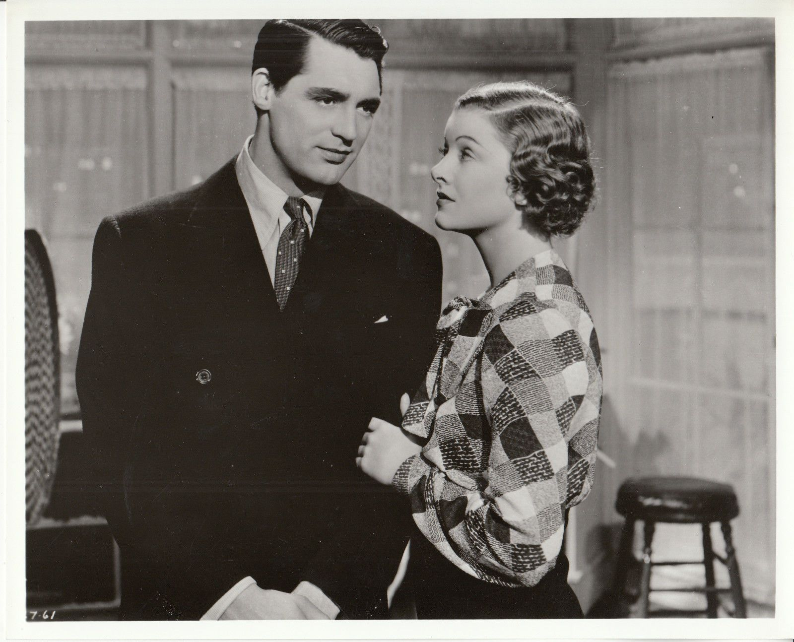 Cary Grant and Myrna Loy