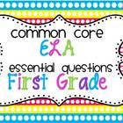 Essential questions provide your students with something to think about throughout the duration of your reading