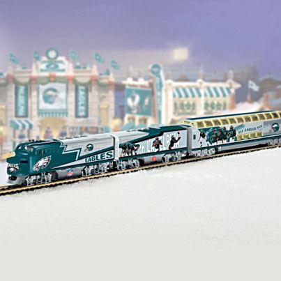 Philadelphia Eagles Express Train Set Philadelphia Eagles Carolina Panthers Nfl Football