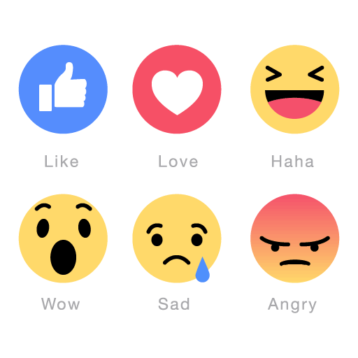 Facebook Emoticons Icons Vector Pack In Eps Ai Free Download Facebook Emoticons Facebook Features Social Media Network