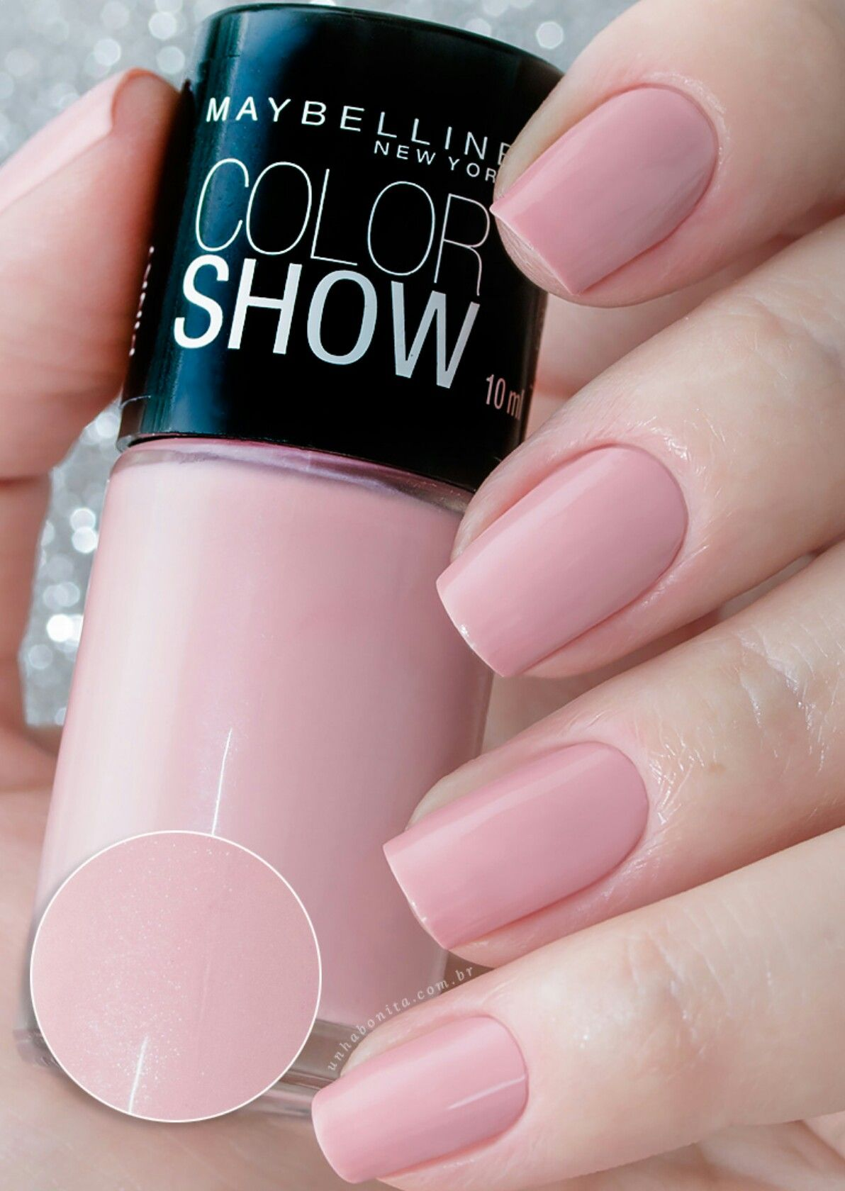 Pretty pink -maybelline @unhabonita | Beauty/Hair/Nails/Clothes ...