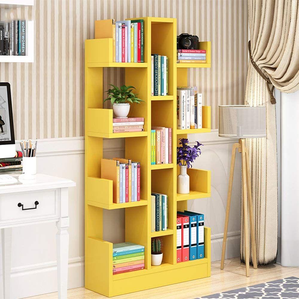 Shelf Simple Bookshelf Living Room Simple Modern Child Student Bookcase Bedroom Creative Tree Shape Landing Simple Bookshelf Bookshelves In Living Room Living Room Decor