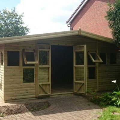 (ID.SUM.2E) 16 x 8 SUMMER HOUSE