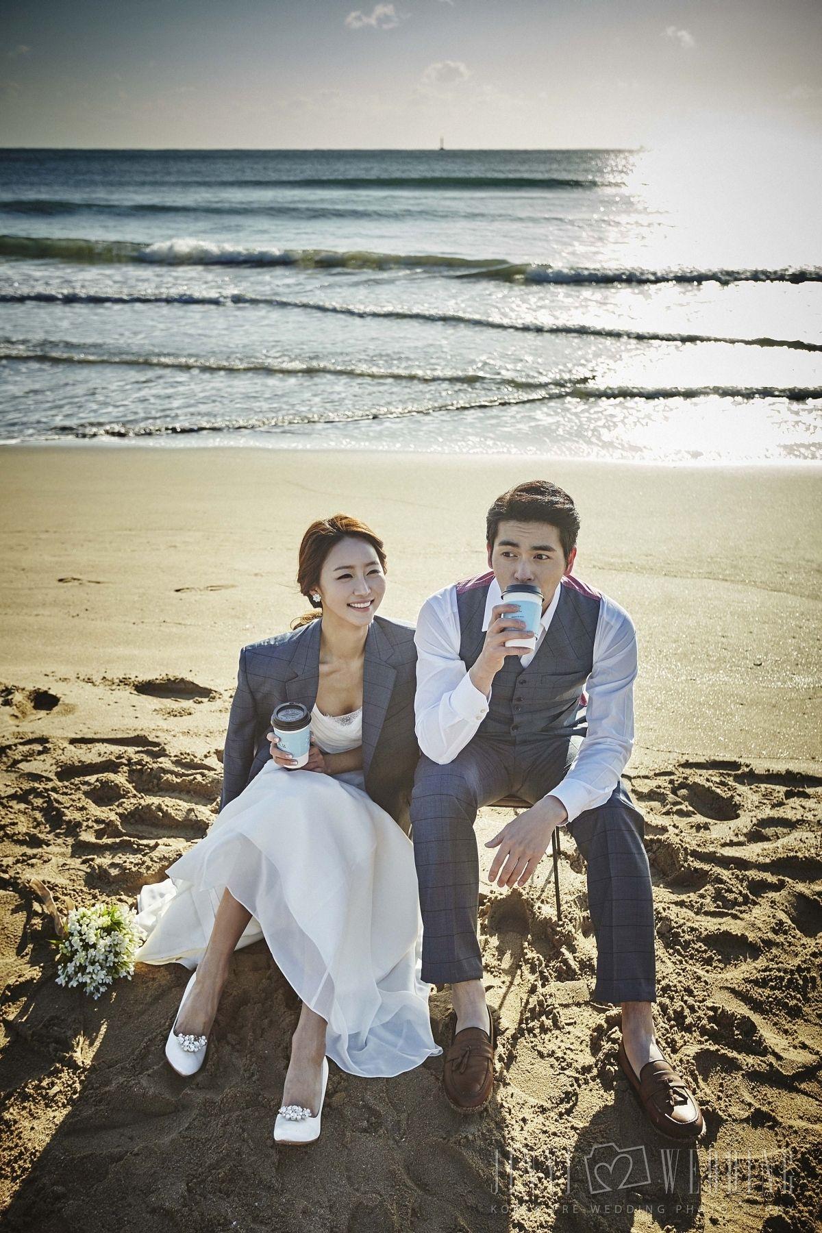 Pre wedding beach  JINYI WEDDING  야외웨딩관려ㄴ  Pinterest  Weddings Wedding and