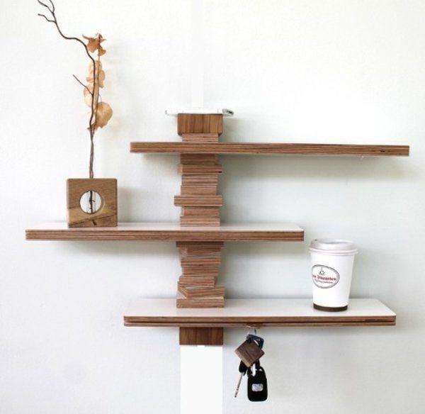 Wandregal Design bringt mehr Leben zu Ihrem modernen Zuhause ...