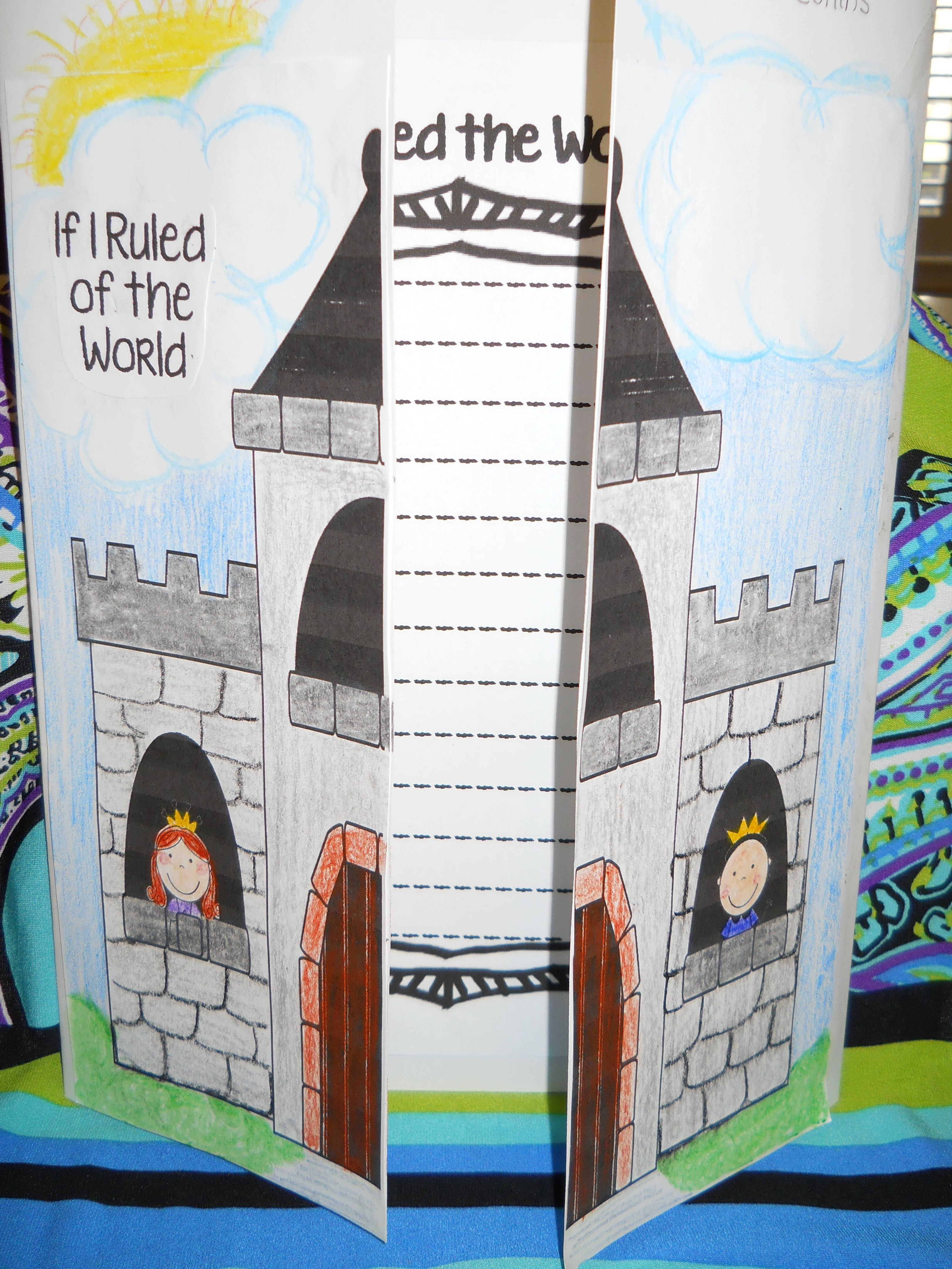 This Castle Writing Activity Is Featured In Our Royal