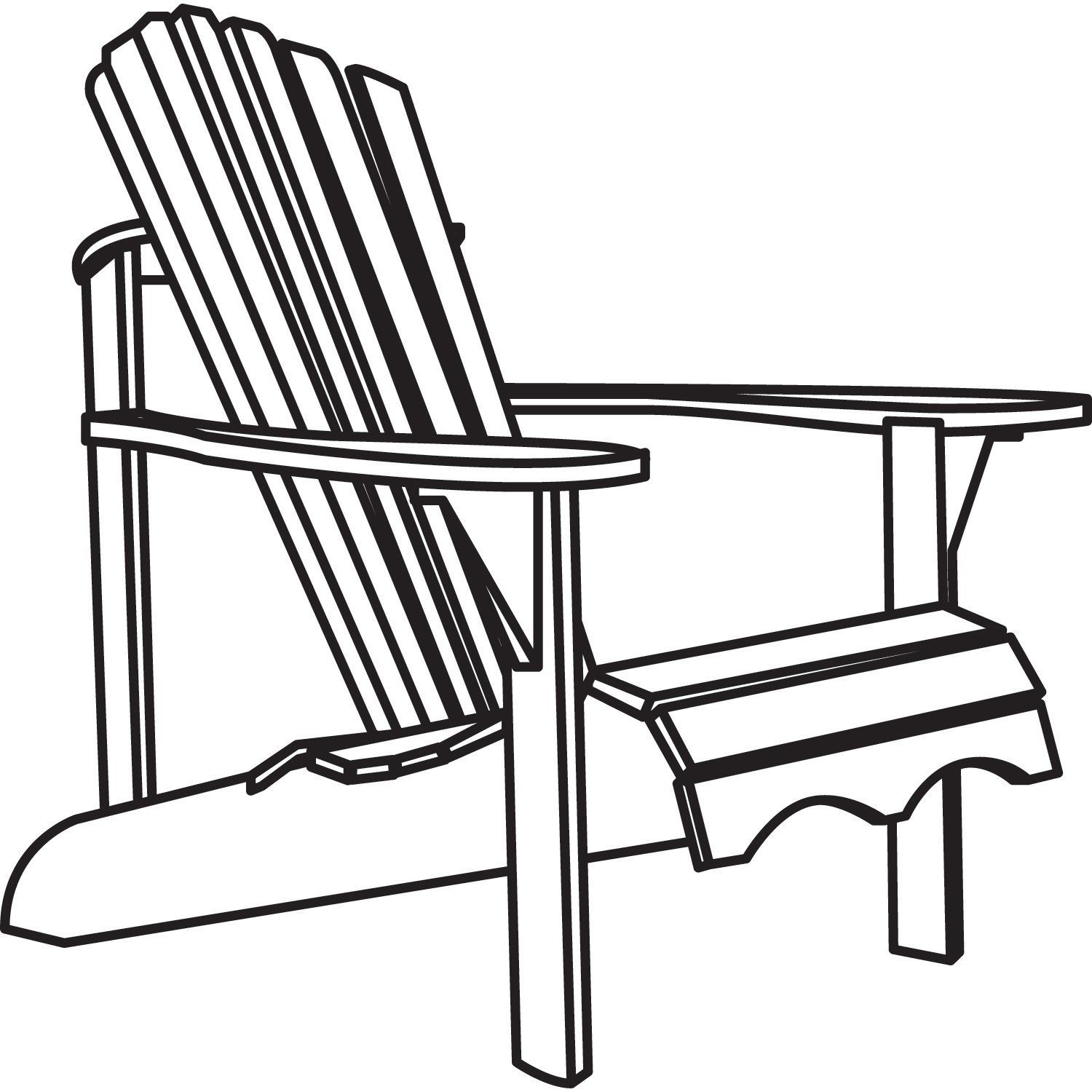 Black and white chair drawing - Classic Accessories Veranda Adirondack Chair Cover Waterproof New