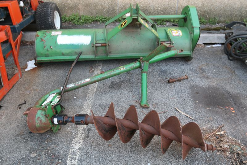 2004 John Deere 25A Flail Mower Attachment, Serial/VIN - Equipment Bill Of Sale