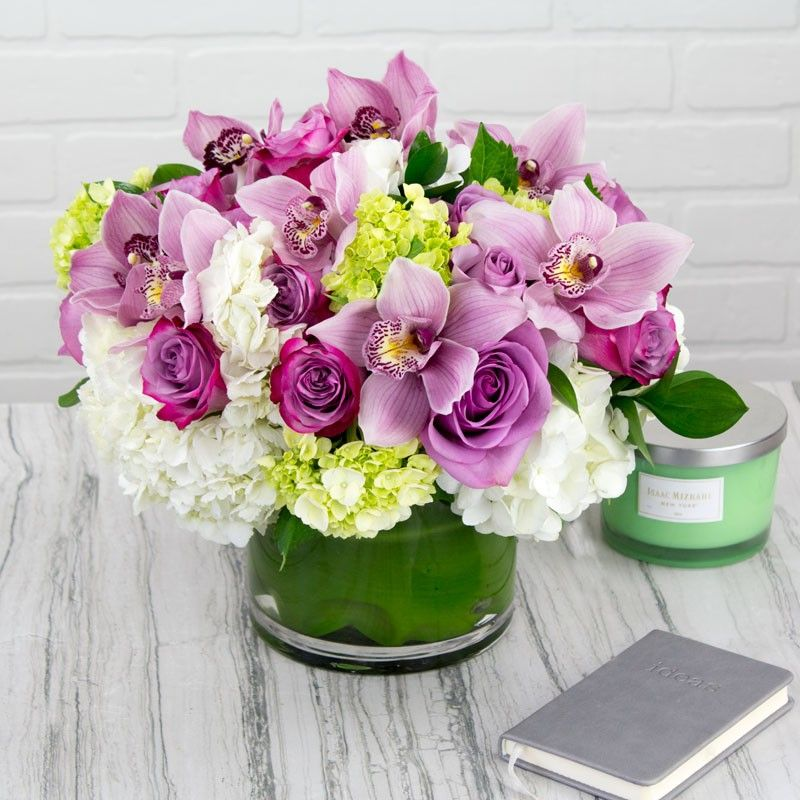 Purple Morning Melody By My Beverly Hills Florist Beautiful Flower Quotes Beautiful Flowers Flower Arrangements