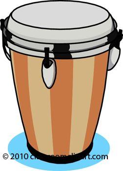 African Drum Clip Art
