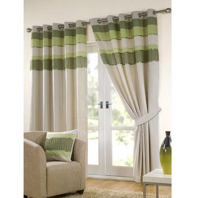 Short eyelet curtains google search curtain - Long or short curtains in living room ...