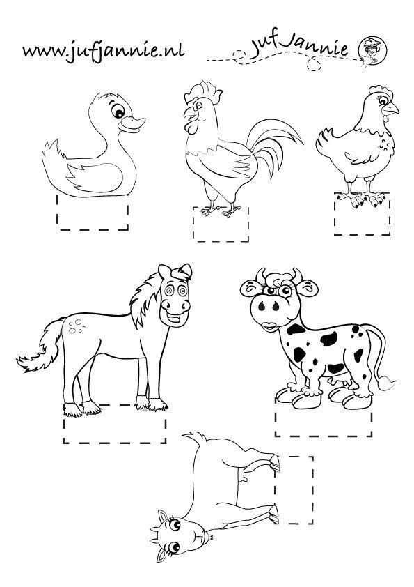 Kleurplaten Kijkdoos Paarden.Kijkdoos Boerderij Boerderij Thema Boerderij Knutselen En