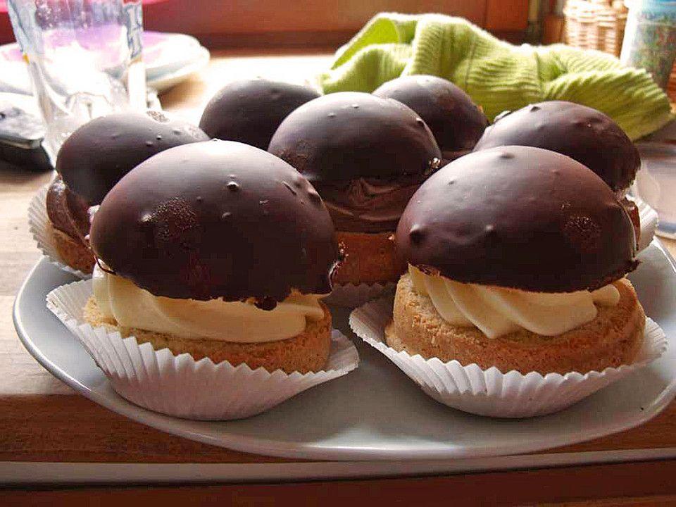 Mohrenköpfe | dessert | Food, Cupcake frosting und Cake