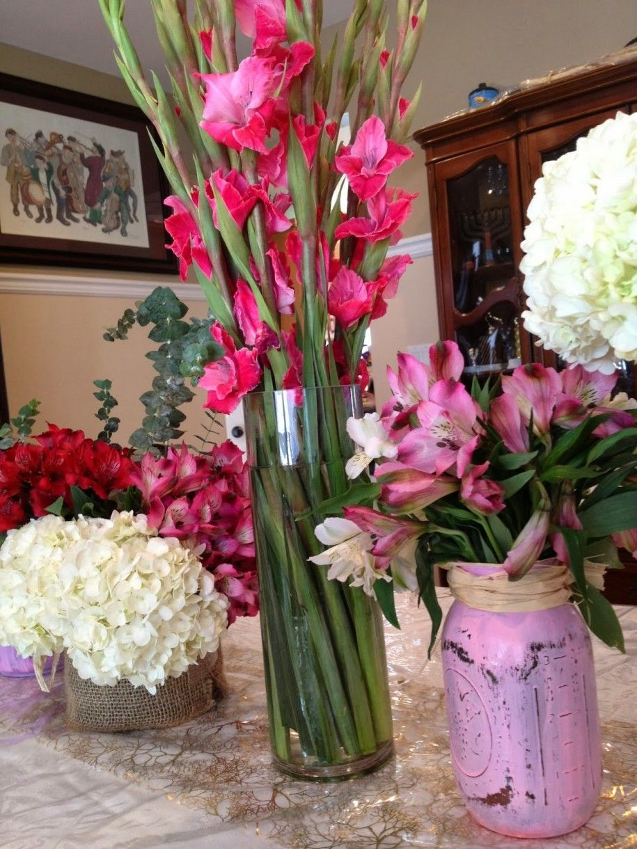 Best Flowers For Tall Vases