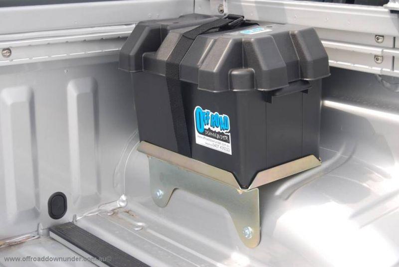Dual Battery Tray / Box Nissan Navara D40 Dual Cabs