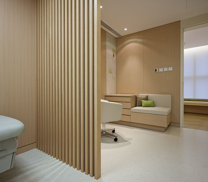 Robarts interiors and architecture deheng clinic kcc for Modern clinic design
