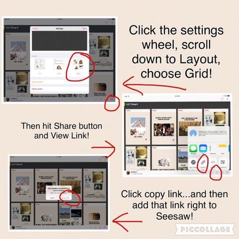 Seesaw Tips, Tricks, and Ideas Seesaw, Share button