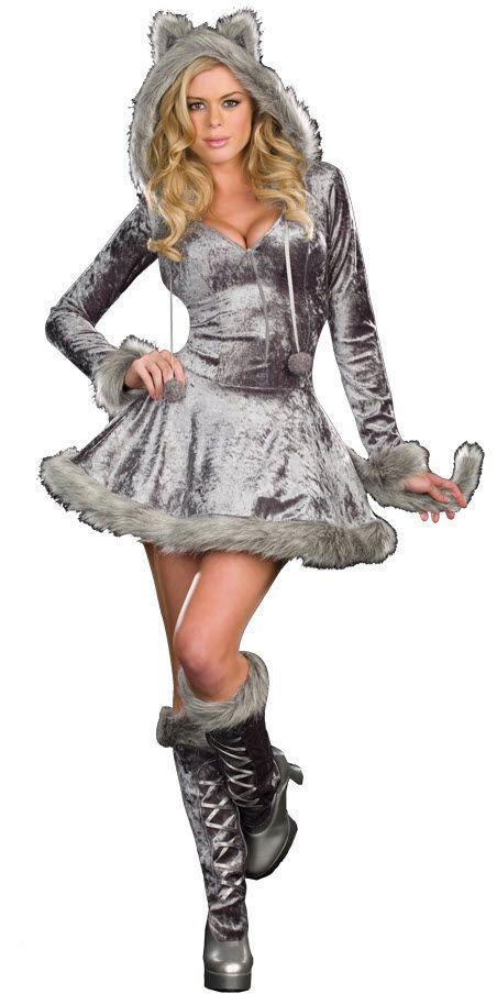 Womens Big Bad Wolf Costume Halloween Makeup Pinterest