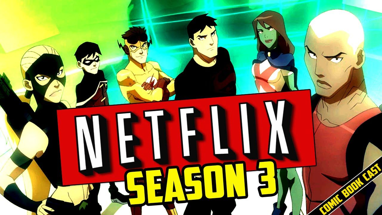 Young Justice Season 3 Update From Voice Actor Young Justice League Young Justice Season 3 Young Justice