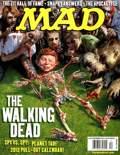 The Walking Dead. MAD magazine