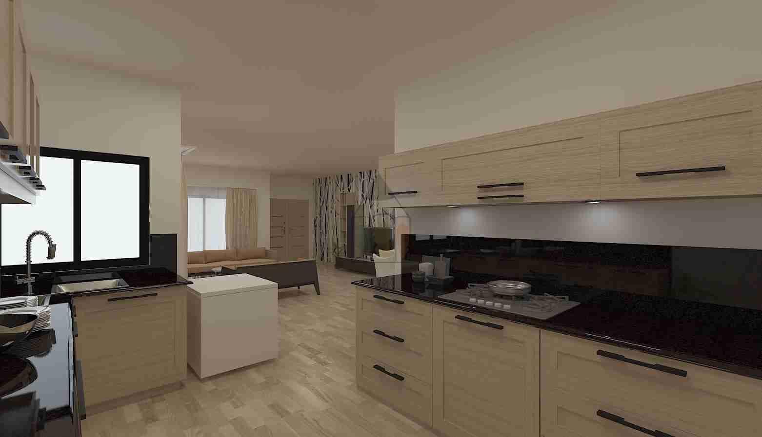 lasani kitchen wood design 1 | Kitchen design modern small ...