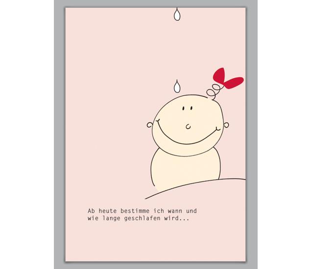 m dchen gl ckwunschkarte zur geburt und taufe http www. Black Bedroom Furniture Sets. Home Design Ideas