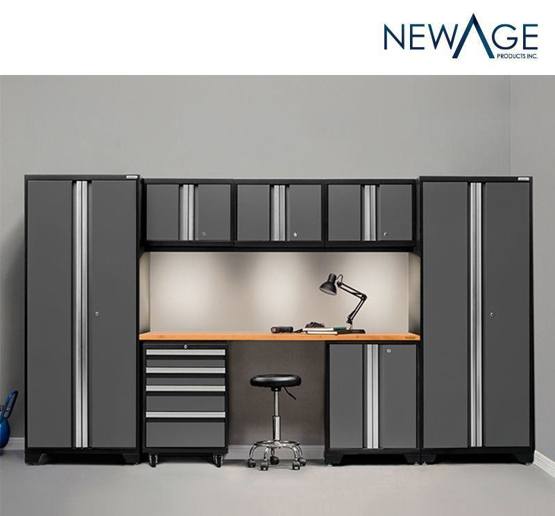 NewAge Products Bold 3.0 Series Storage 8piece