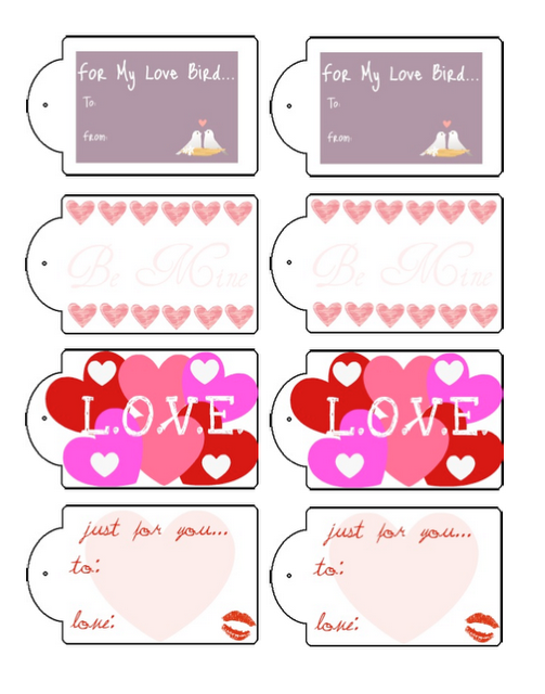 image regarding Valentine Gift Tags Printable named Totally free Valentines reward tag printable! XOXO Valentine