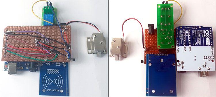 Make Your Own Arduino Rfid Door Lock Arduino Rfid Arduino