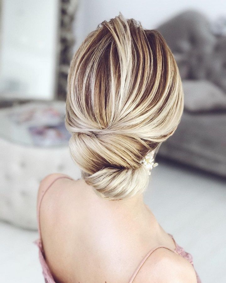 Elegant chignon hairstyle ideas