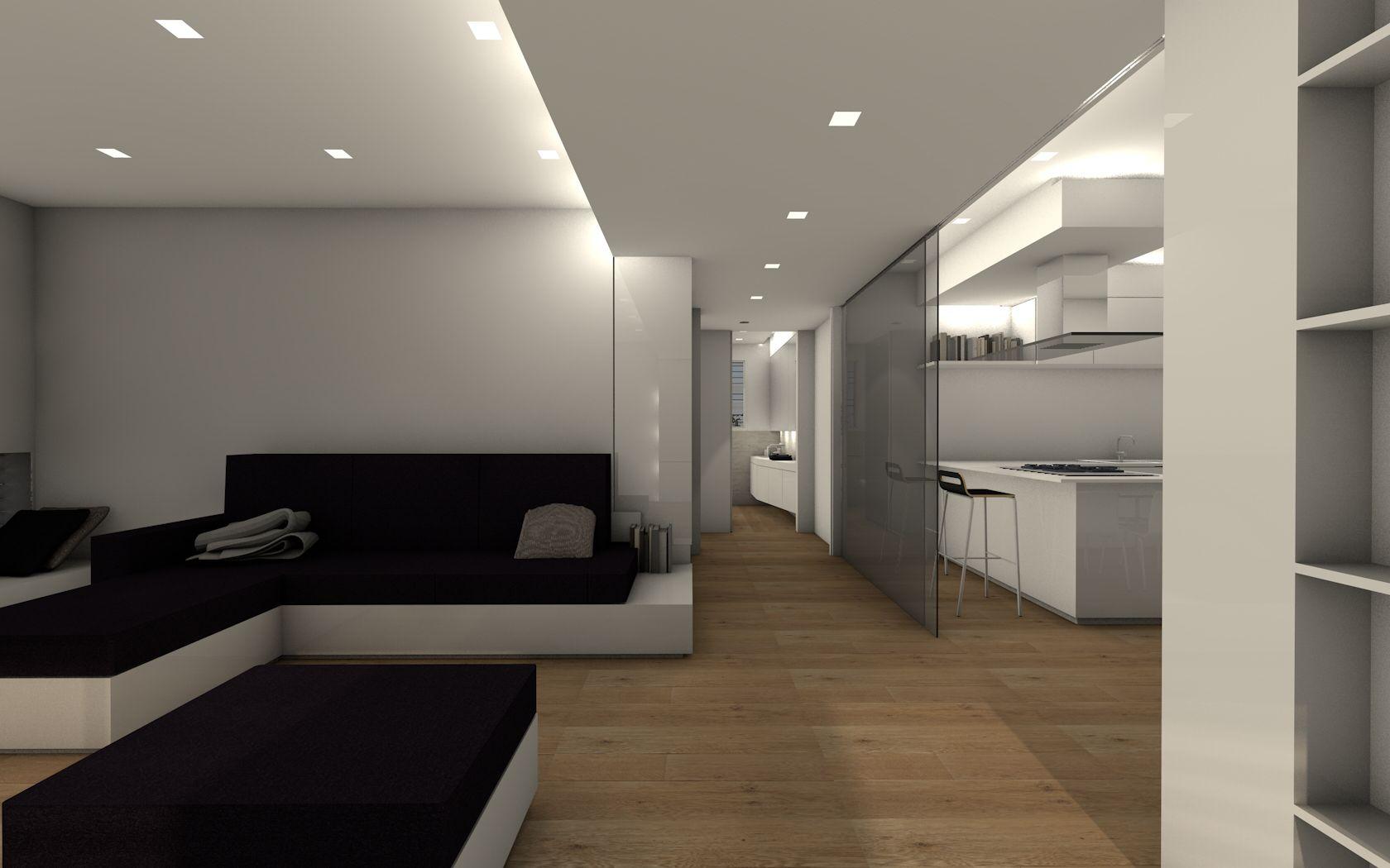 casa brs - soggiorno cucina