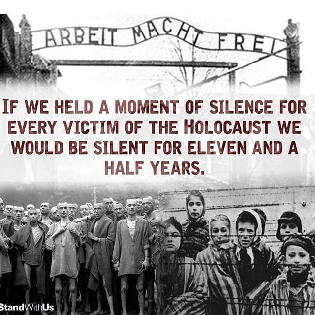 "Remembering All Those Life's Lost In The Holocaust. ""We"