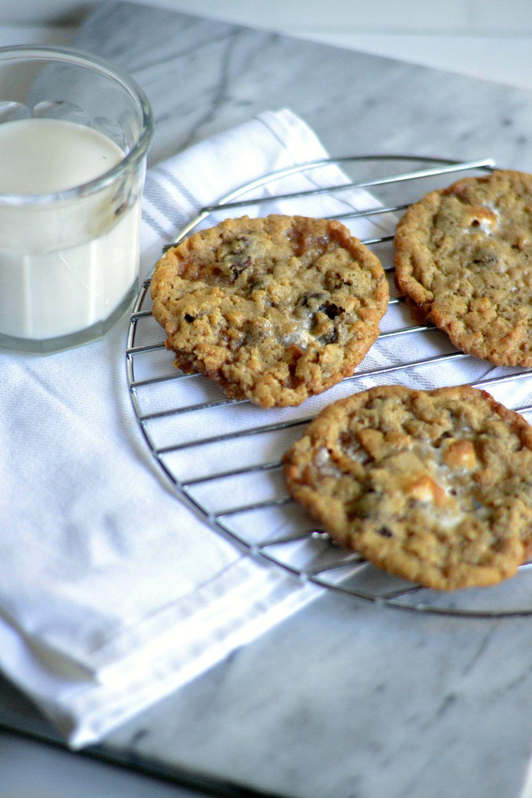 Chocolate Chip Rice Krispies Treat Cookies