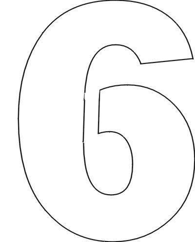 Number Stencils Set 1 | Printable letter stencils, Printable letters ...