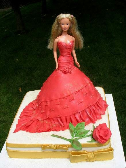 Pin by Virginia Jessup on Doll Cakes Pinterest Cake Birthday