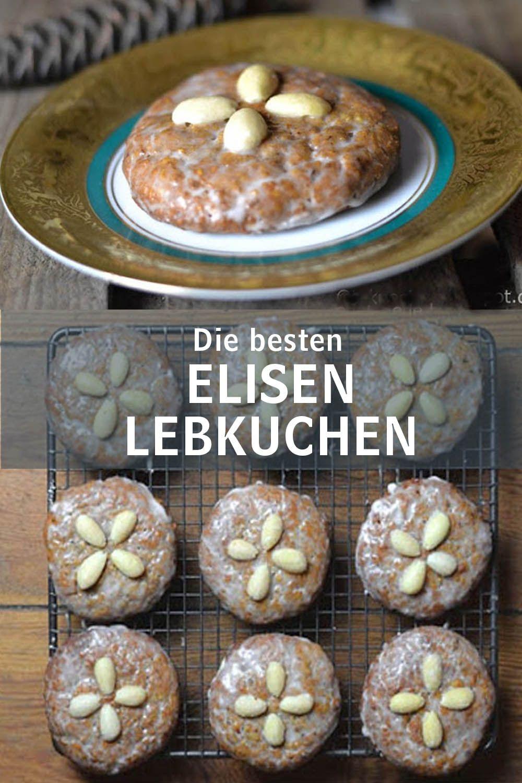 Weltbeste Elisen-Lebkuchen - Rezept für meine besten Elisen Plätzchen