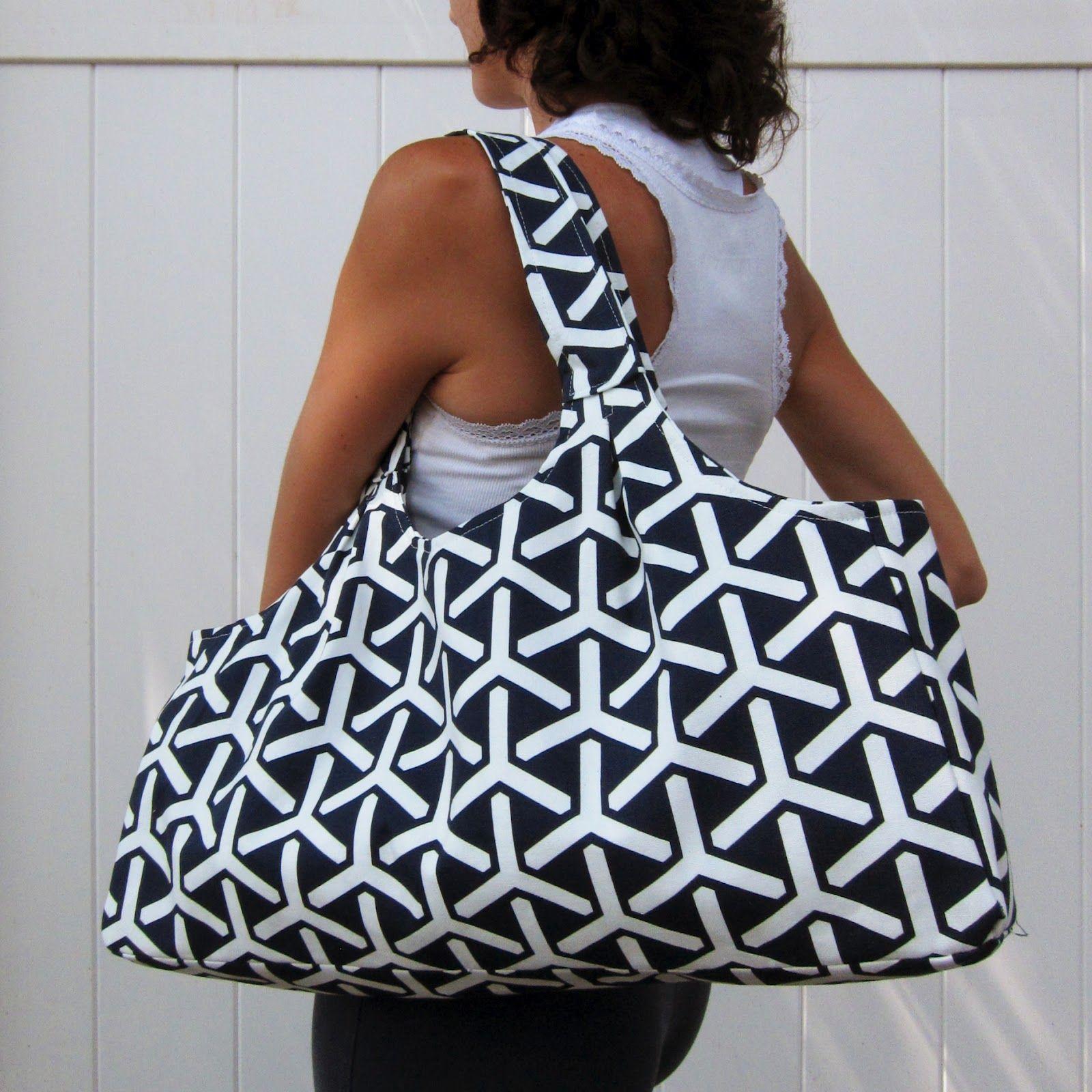 The scoop tote by green bee patterns bolsas de tela for Decoracion del hogar pdf