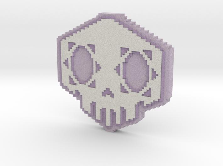 Sombra 5kull Skull Overwatch Spray Fridge Magnet 3d Printed Fridge Magnets Shapeways Magnets