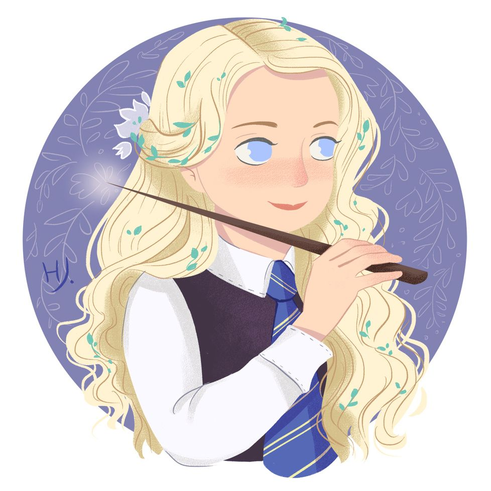 Mostly Artists Already Finished Potterweekprompts But I Decided To Take More Time And Ma Harry Potter Fan Art Harry Potter Drawings Harry Potter Luna Lovegood