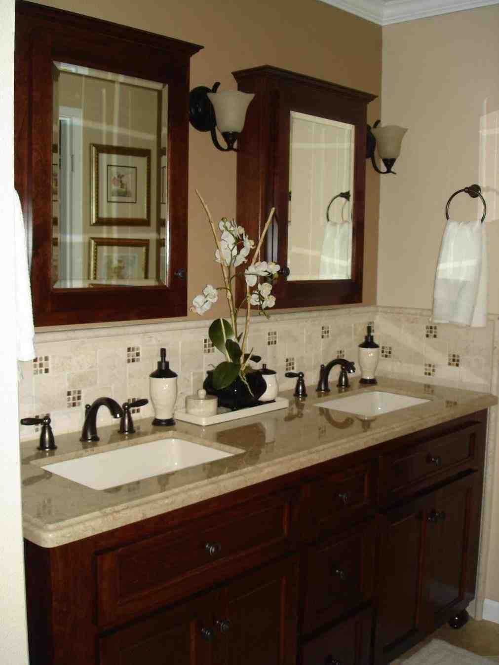 This bathroom backsplash ideas granite countertops kitchen backsplash ideas with light granite full size