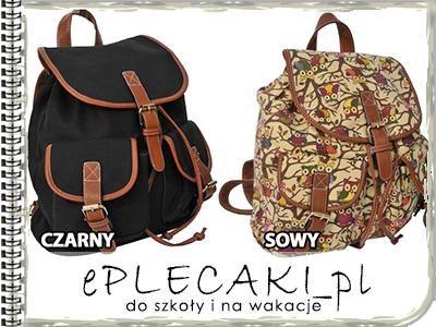 Plecak Retro Vintage Miejski Mlodziezowy Plecaki 4847767125 Oficjalne Archiwum Allegro Bags Backpacks Vintage