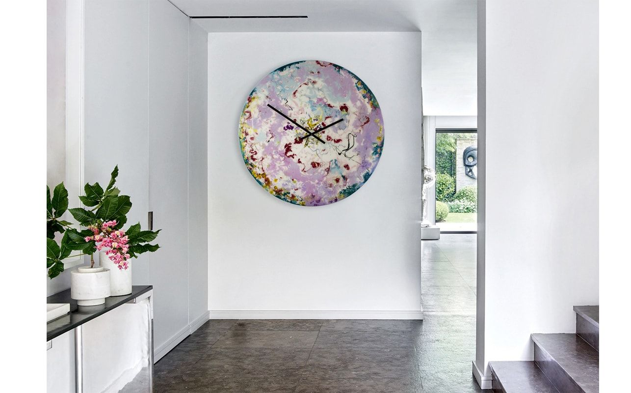 Beau Extra Large Kitchen Clock | With Ambient Lighting | Shop Now #clock  #designerclock #