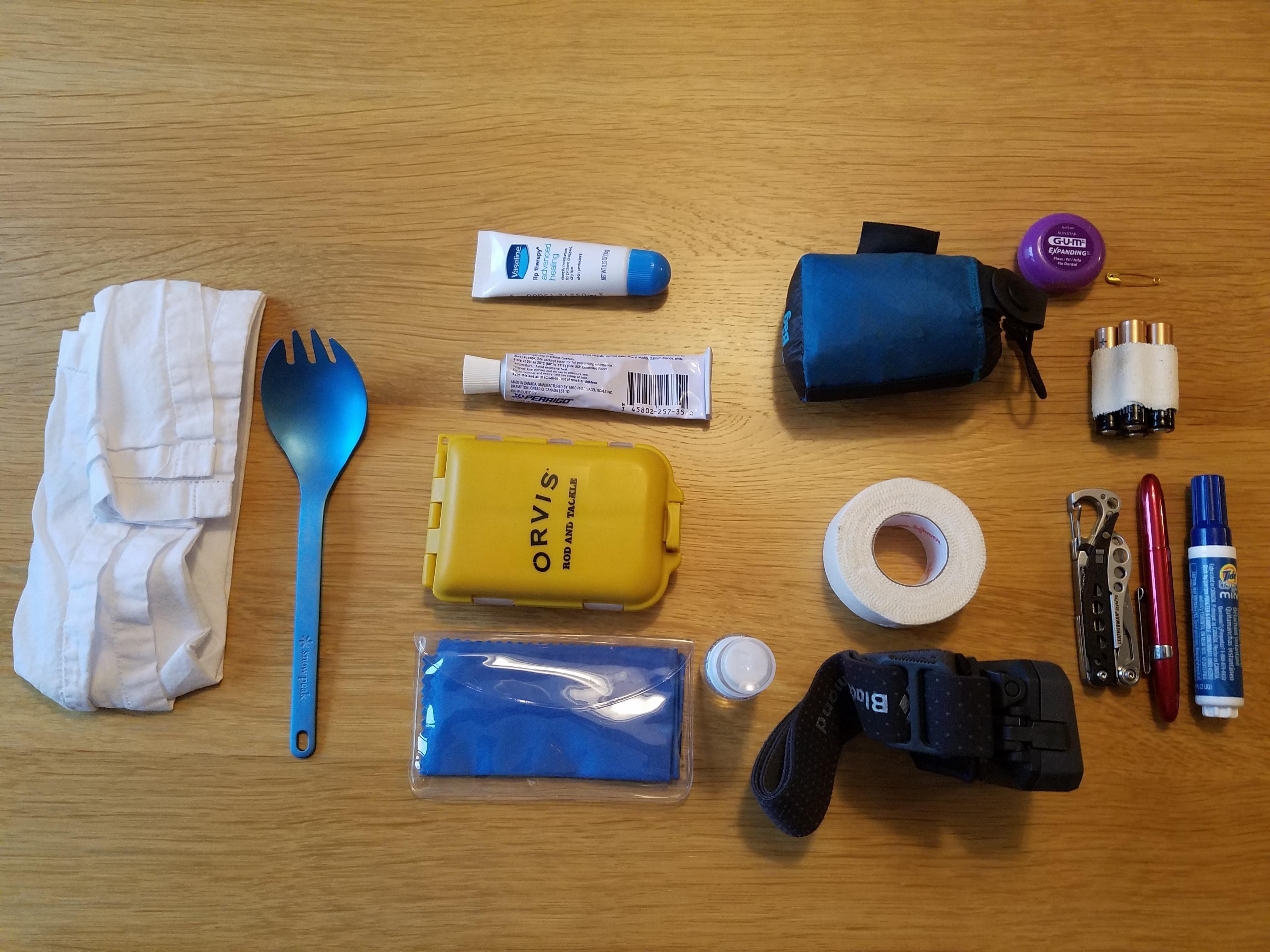 My travel kit onebag travel kits my travel