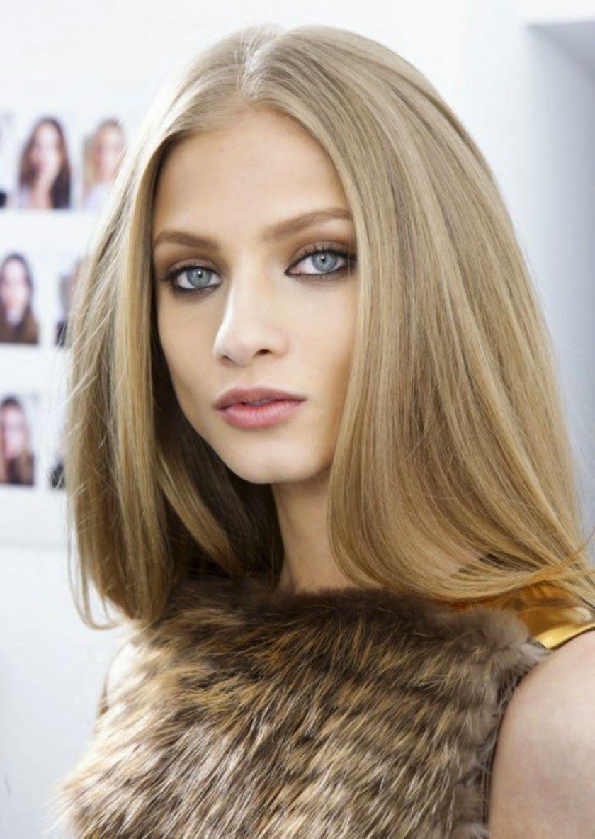 medium beige blonde hair color - 700×987