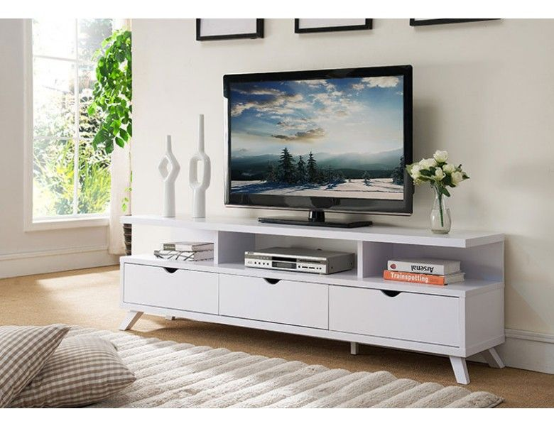 Lanie Modern White Tv Stand White Tv Stands Living Room Tv Stand Wooden Tv Stands
