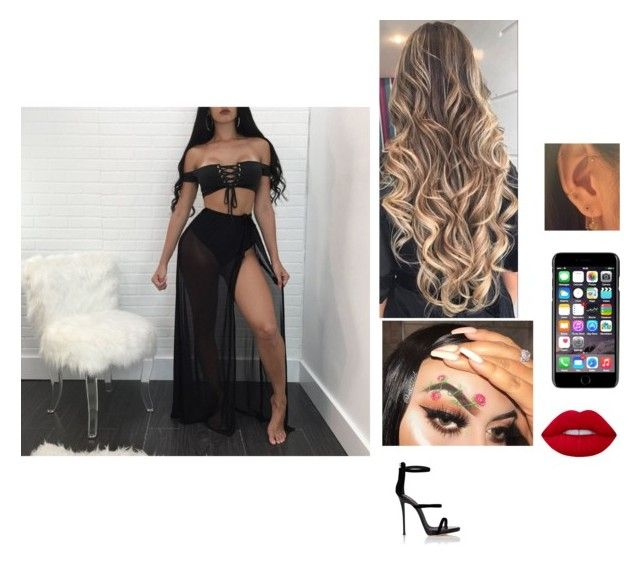 """""""Untitled #423"""" by secretslauren on Polyvore featuring Giuseppe Zanotti, Lime Crime and Dolce&Gabbana"""