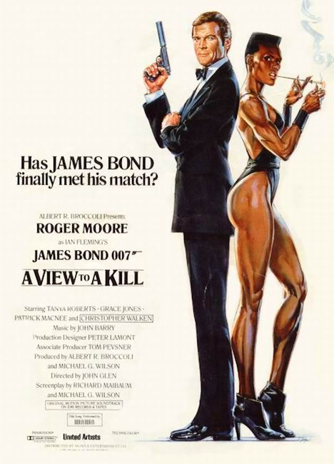 14 James Bond A View To A Kill 1985 007 Played By Roger Moore